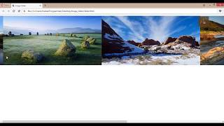 How to create a Image Slider in HTML and CSS