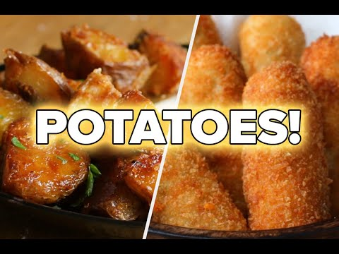 10 Mouthwatering Recipes For Potato Lovers • Tasty