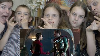 FAR FROM HOME TRAILER REACTION