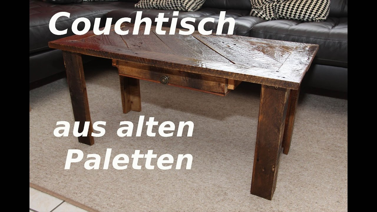 Couchtisch Upcycling Couchtisch Aus Palettenholz Selber Machen Upcycling