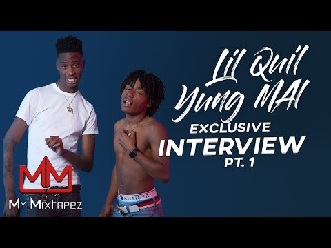 Yung Mal & Lil Quil - Signed to Gucci Mane & being the biggest Duo in Atlanta [Part 1]