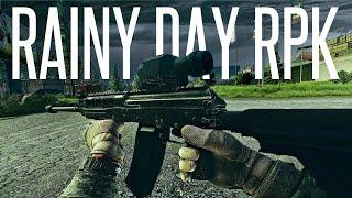 RAINY DAY RPK-16 COMBAT - Escape From Tarkov Gameplay