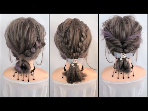 Hairstyles Tutorials For Short Hair ❤️ TOP 9  Amazing Hairstyles Compilation 2019 ❤️ Part 21 ❤️ HD4K
