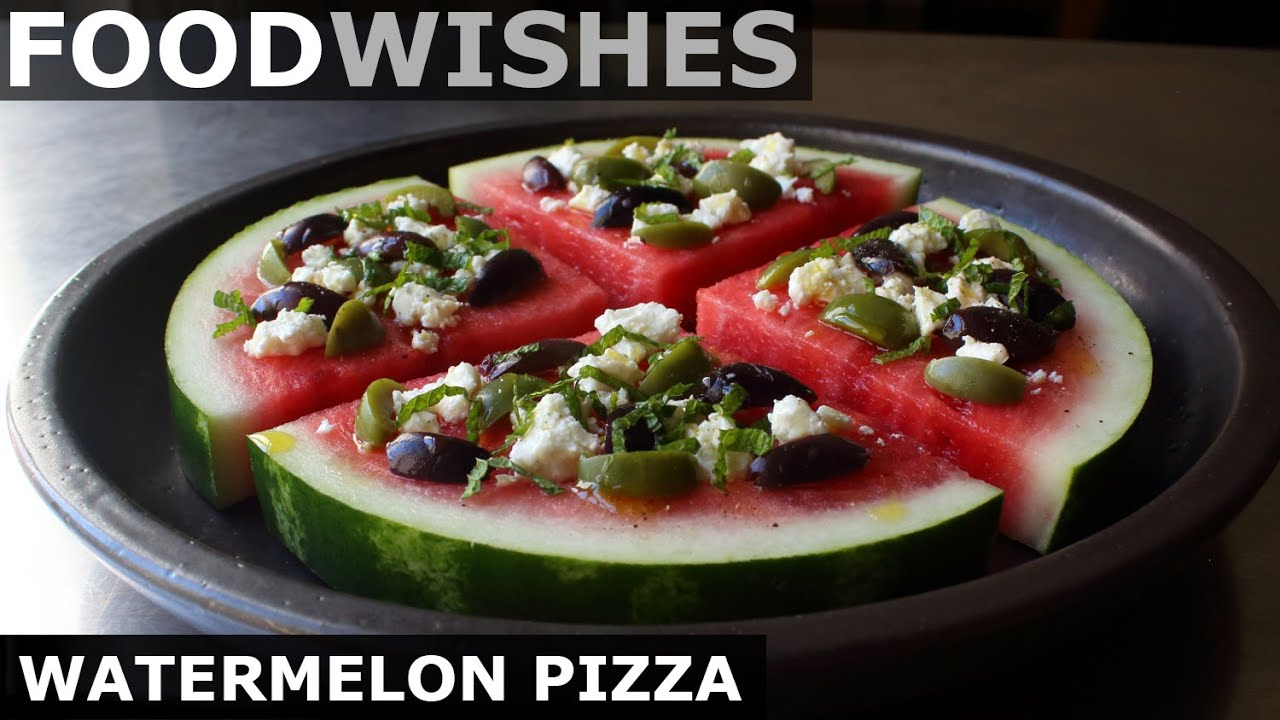 Watermelon Pizza - Food Wishes