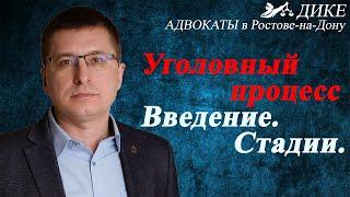 Уголовный процесс [адвокат Манацков, Ростов-на-Дону, 2020]