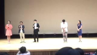 명탐정코난 16th 극장판, 11번째 스트라이커 성우 무대인사