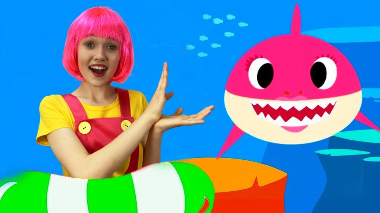 بيبي شارك Baby shark Dance kids song | Alex and Nastya kids videos | أغنية رقص الاطفال