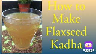 Immunity BoosterSuper healthy flax seed kadha for healthy heart Kadha  Flaxseed Kadha