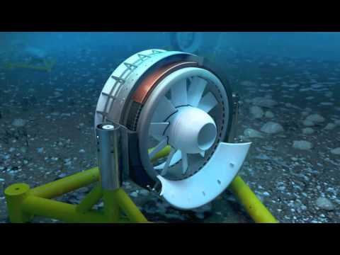 Journey to the heart of energy - How a marine turbine works