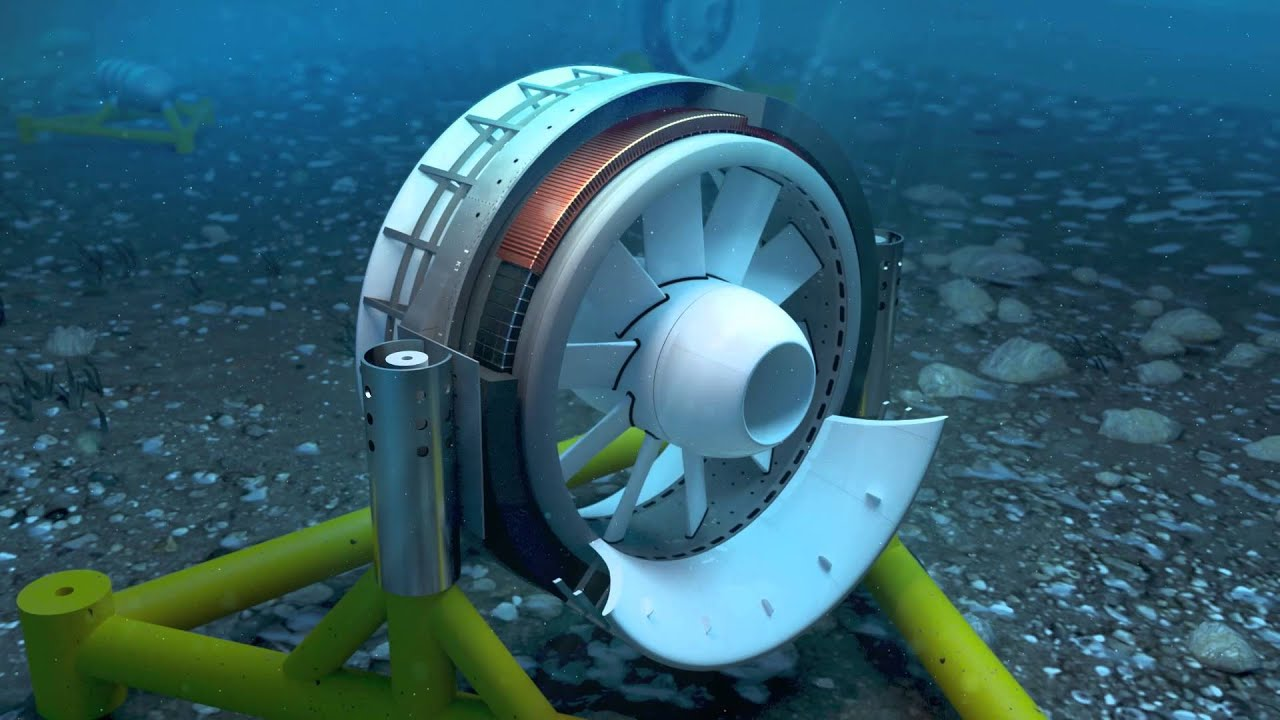 Journey to the heart of energy How a marine turbine works