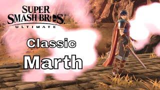Super Smash Bros Ultimate Classic: Marth (No Commentary)