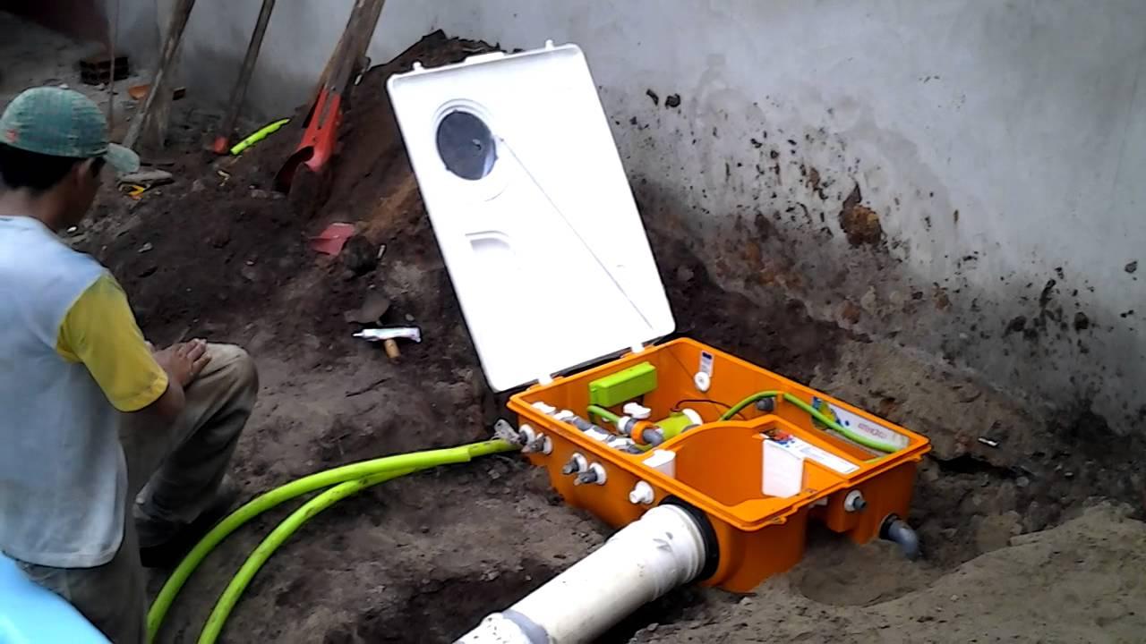 Instala o de piscina igui com filtro atr s youtube for Filtros de agua para piscinas
