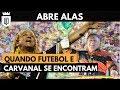 Carnaval e futebol: torcidas organizadas, atletas no samba e mais | MEMÓRIA UD