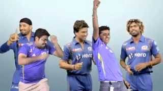 Fans go crazy with the Mumbai Indians theme song