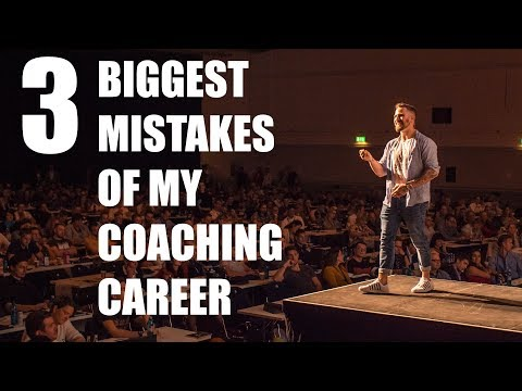 The 3 Biggest Mistakes Of My Online Coaching Career