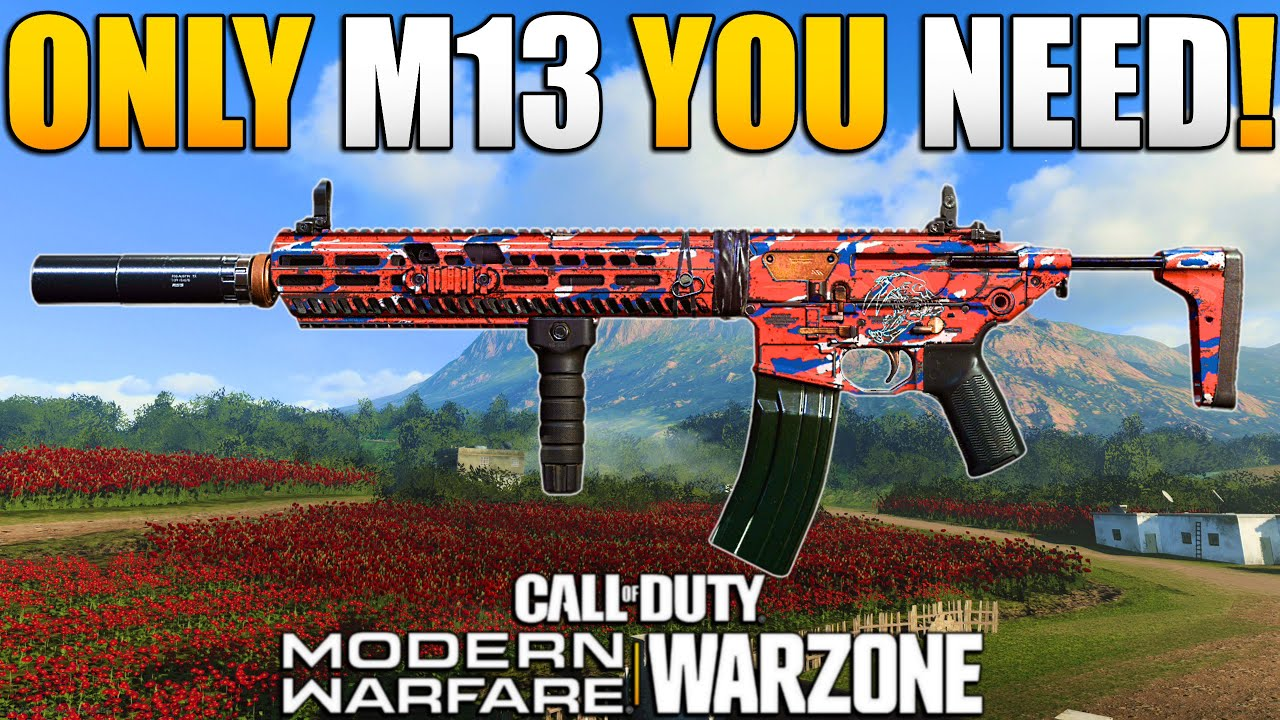 How to Make the Best Possible M13 Class Setup for WARZONE | Modern Warfare BR | JGOD