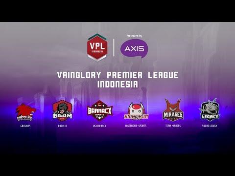 VPL INDONESIA 2018 : ROUND 7   PG.BARRACX VS GRIZZLIES