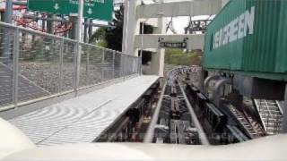 Backlot Stunt Coaster Front Seat on-ride HD POV Kings Dominion