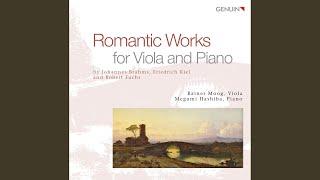 Clarinet Sonata in F Minor, Op. 120, No. 1: I. Allegro appassionato