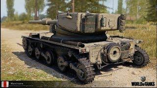 Британский Легкий танк Manticore. Что нужно о нём знать в Обновлении 1.6
