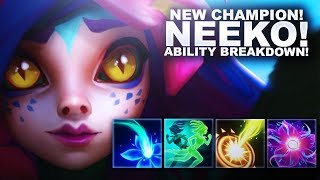 NEW CHAMPION NEEKO! FULL ABILITIES REVEAL! | League of Legends