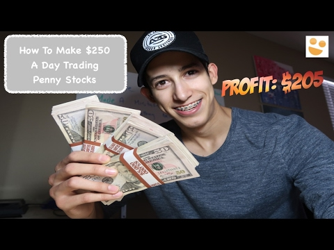 Making +$250 A Day Trading Penny Stocks: How To Trade: $IPI