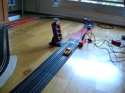 circuit Carrera D143: Jouef 911, voiture fantôme et D143 police