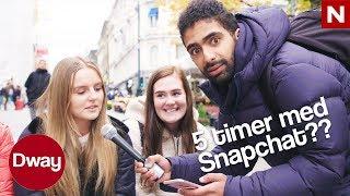 #Dway | Arman på gata: Hvor mange timer bruker du på sosiale medier? | TVNorge