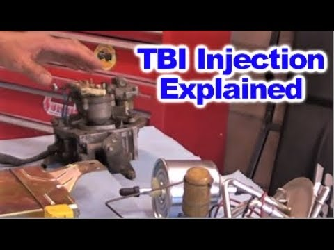 How Throttle Body Injection ( TBI )  Works by Howstuffinmycarworks