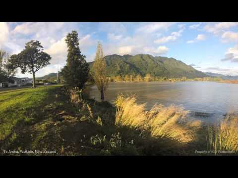 Te Aroha, Waikato, New Zealand (1 min time lapse)