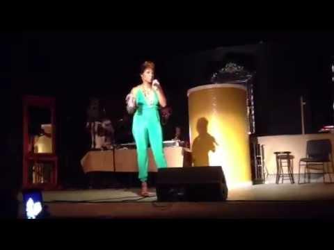 Adina Howard - T-Shirt & Panties / Switch / What Do I Do (Part I)  (Live) 4-26-14