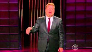 Late Late Show's James Corden slams bike lane opponents in 9/29/15 monologue