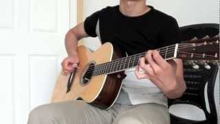 Sungmin Lee: Big Bang - 'Bad Boy' - Acoustic Fingerstyle Guitar Cover