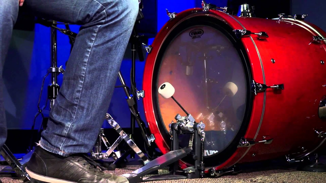 evans emad heavyweight bass drum head review youtube. Black Bedroom Furniture Sets. Home Design Ideas