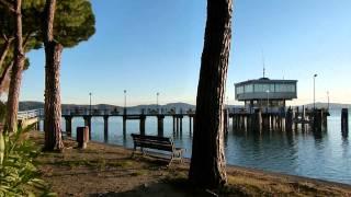 UMBRIA - LAGO TRASIMENO - PASSIGNANO AL TRAMONTO - Sunset Lake