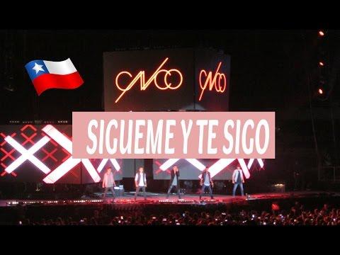 CNCO en Chile-Sígueme y te sigo .