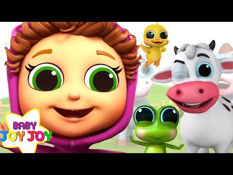 Educational Nursery Rhymes 120 Minutes! | Baby Songs With Baby Joy Joy