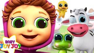 Educational Nursery Rhymes 120 Minutes! | Baby Songs with Baby Joy Joy
