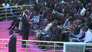 The Eagles Anointing   impartation service by Bis David Oyedepo
