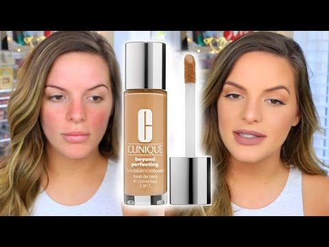 Clinique Beyond Perfecting Foundation & Concealer | First Impression | Casey Holmes