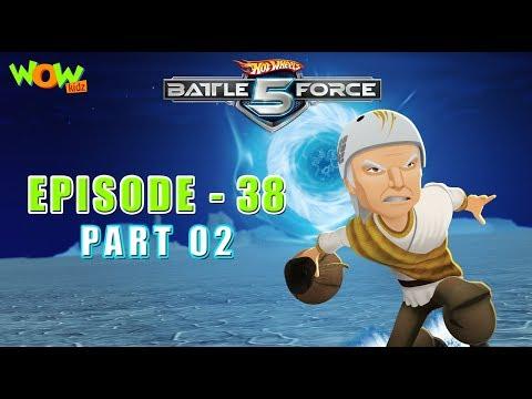 Motu Patlu presents Hot Wheels Battle Force 5 - Mouth of the Dragon- S2 E38.P2 - in Hindi