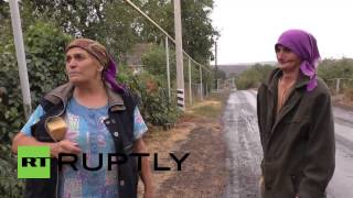 "Ukraine: ""Kids fled shelling in tears"" – Donetsk village ravaged by shelling"