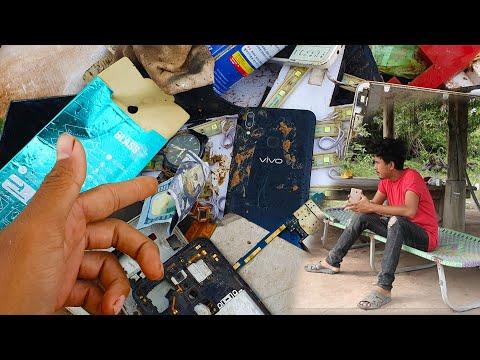 Old Destroyed Phone Restoration, |  Restoring Broken Vivo Phone