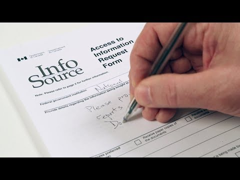 How To Make An Access To Information (ATIP) Request In Canada