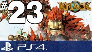 Knack Walkthrough - PART 23 - Kung Fu Knack (PS4 Gameplay w/ Commentary)