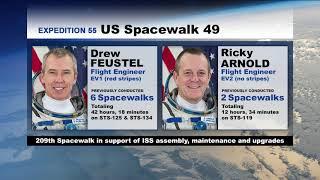 Expedition 55  U.S. EVA #49 - 1 of 4