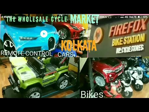 Wholesaler market for cycle /BENTTICK STREET/KOLKATA'S  CHEAPEST CYCLE,KIDS CARS AND KIDS BIKES MAR