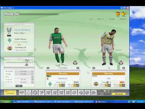 Cua so fifa online 2 ca khi da vao tran dau ! MinhLinh.Com up 24.4.2010