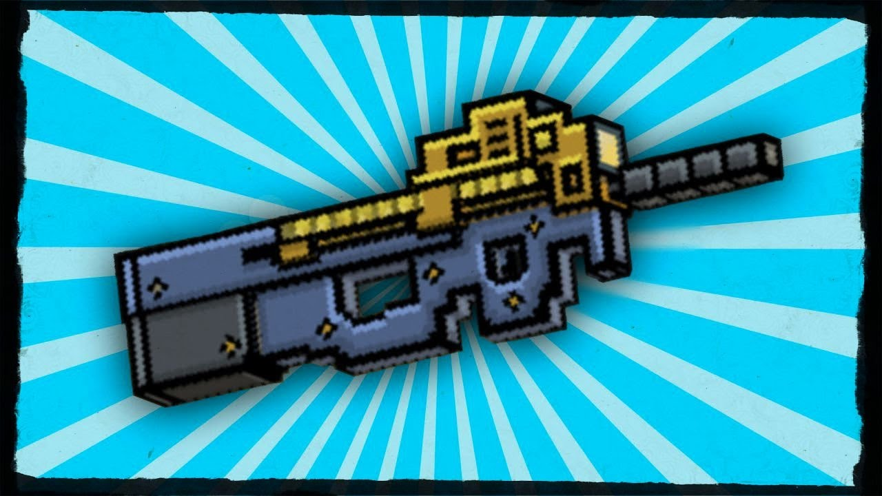 probando rifle de repeticion en pixel gun 3d pixel gun