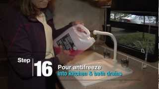How To Winterize RV Travel Trailer Water System